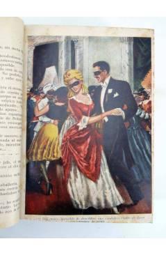 Contracubierta de EL SECRETO DE UNA NOVIA. COMPLETA 3 TOMOS. 4480 PÁGS (Henry De Tremière) No acreditada 1930