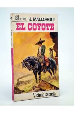 Cubierta de EL COYOTE 8. VICTORIA SECRETA (José Mallorquí) Bruguera 1968