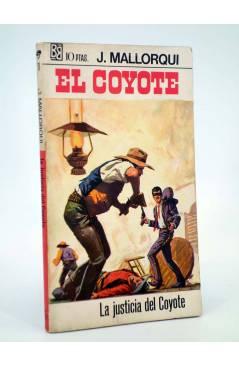Cubierta de EL COYOTE 11. LA JUSTICIA DEL COYOTE (José Mallorquí) Bruguera 1968