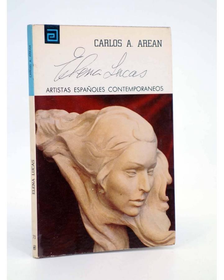 Cubierta de ARTISTAS ESPAÑOLES CONTEMPORÁNEOS 73. ELENA LUCAS (Carlos A. Arean) Ministerio de Educación y Ciencia 1974