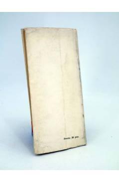 Contracubierta de EL SUEÑO DE UNA NOCHE DE VERANO (William Shakespeare) Nacional 1964