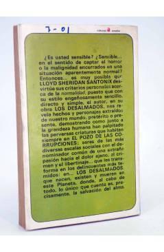 Contracubierta de MUTANTE 4. LOS DESALMADOS. EL POZO DE LAS CORRUPCIONES (Lloyd Sheridan / Santonix) Antalbe 1970