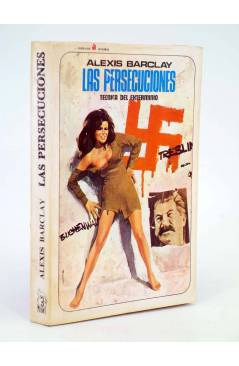 Cubierta de MUTANTE 3. LAS PERSECUCIONES. TÉCNICA DEL EXTERMINIO (Alexis Barclay) Antalbe 1970
