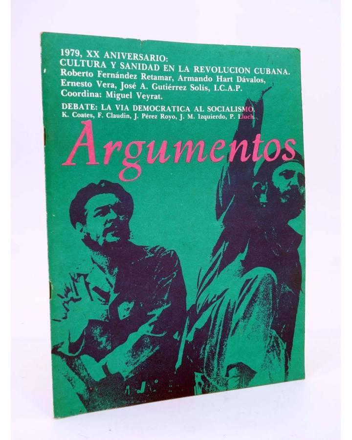 Cubierta de REVISTA ARGUMENTOS 19. ENERO (Vvaa) Pronto 1979