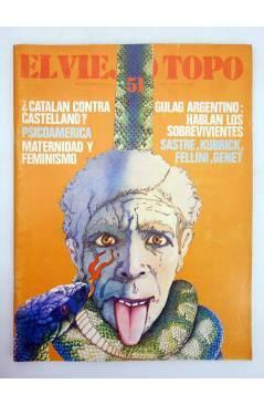 Cubierta de EL VIEJO TOPO 51. REVISTA MENSUAL. DIC 1980 (Vvaa) Ediciones 2001 1980