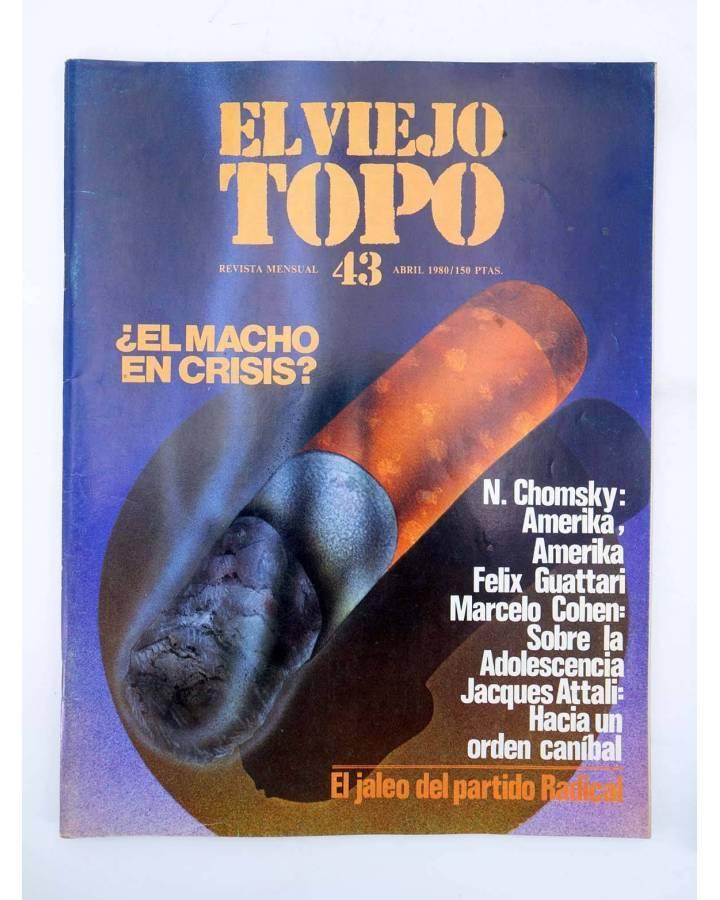 Cubierta de EL VIEJO TOPO 43. REVISTA MENSUAL. ABRIL 1980 (Vvaa) Ediciones 2001 1980