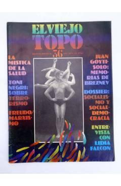 Cubierta de EL VIEJO TOPO 36. REVISTA MENSUAL. SEPT 1979 (Vvaa) Iniciativas Editoriales 1979