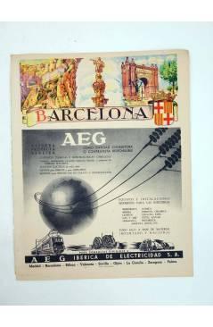 Muestra 4 de ANUARIO TELEFÓNICO LOTE DE 44 LÁMINAS PROVINCIAS CON MAPAS 1950 (No Acreditados) Planeta 1950