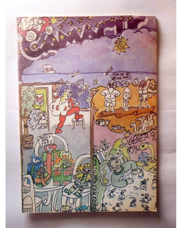 Cubierta de CAMACUC. REVISTA PER A XIQUETS I XIQUETES 54 (Manel Gimeno Burguitos De La Fuente) FECPV 1990