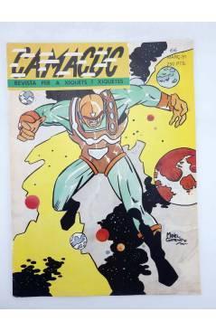 Cubierta de CAMACUC. REVISTA PER A XIQUETS I XIQUETES 66 (Manel Gimeno Rafa Fronteriz) FECPV 1991