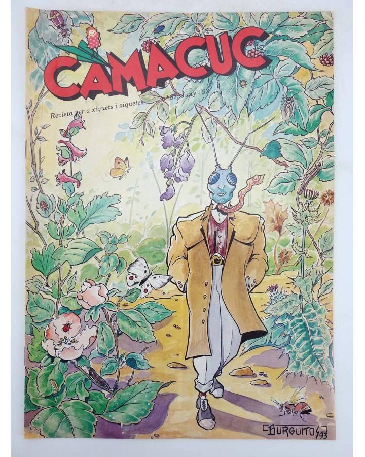 Cubierta de CAMACUC. REVISTA PER A XIQUETS I XIQUETES 87 (Sanchís Micharmut Gimeno Cabo) FECPV 1993