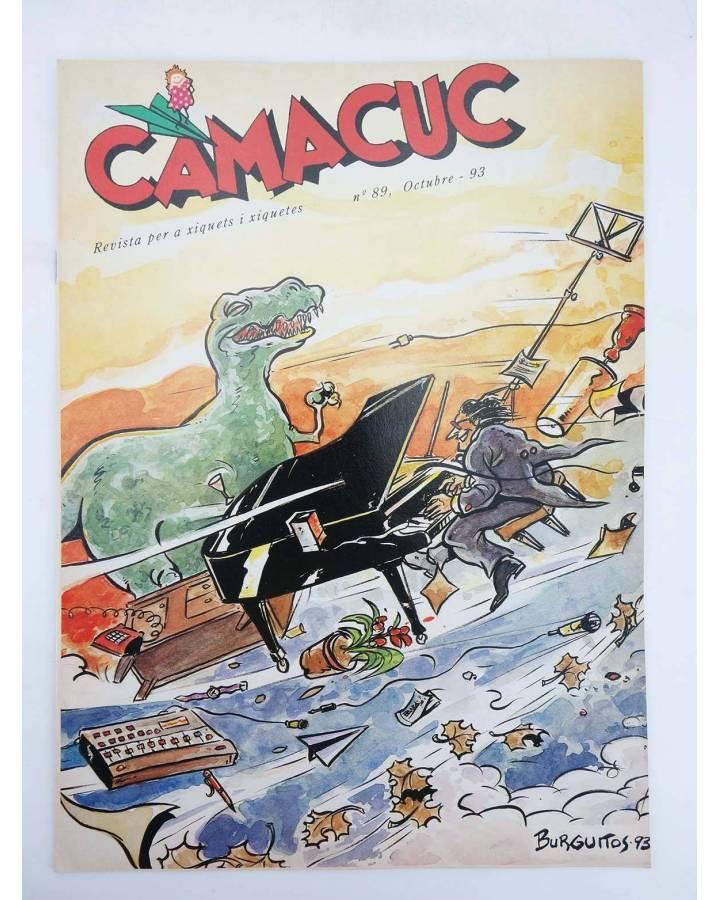 Cubierta de CAMACUC. REVISTA PER A XIQUETS I XIQUETES 89 (Palop Manel Gimeno) FECPV 1993
