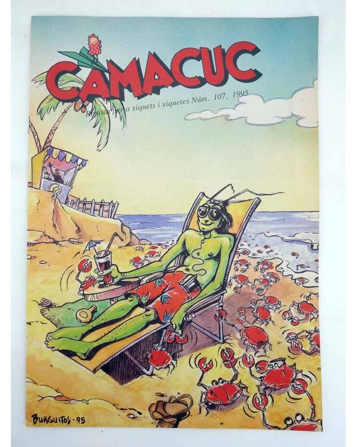 Cubierta de CAMACUC. REVISTA PER A XIQUETS I XIQUETES 107 (Gimeno Cabo Fraile Burguitos) FECPV 1995