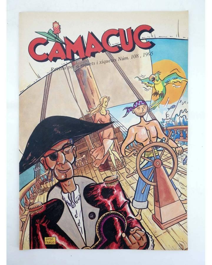 Cubierta de CAMACUC. REVISTA PER A XIQUETS I XIQUETES 108 (Sanchís Gimeno Cabo Fraile) FECPV 1995