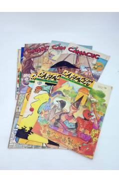 Cubierta de CAMACUC. REVISTA PER A XIQUETS I XIQUETES. LOTE DE 11 DIF (Sanchís Micharmut Etc) FECPV 1990