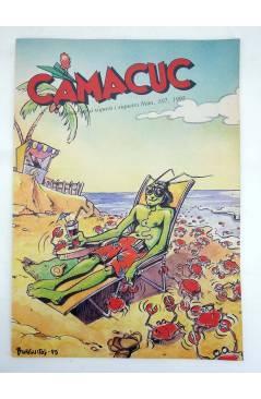 Contracubierta de CAMACUC. REVISTA PER A XIQUETS I XIQUETES. LOTE DE 11 DIF (Sanchís Micharmut Etc) FECPV 1990