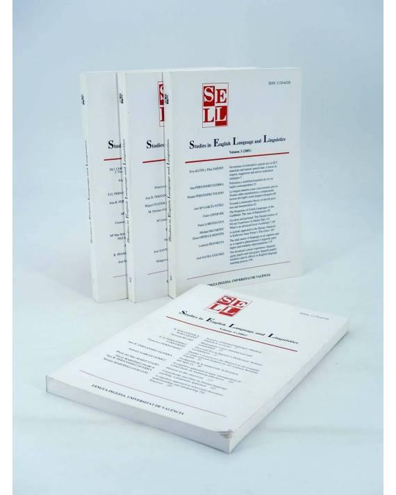 Cubierta de SELL STUDIES IN ENGLISH LANGUAGE AND LINGUISTICS 1 A 4 Lengua Inglesa (Vvaa) Barcelona 1999