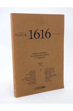 Cubierta de 1616 MIL SEISCIENTOS DIECISÉIS I. ANUARIO 1978 1978 (Vvaa) Facultad de Filología UCM 1978