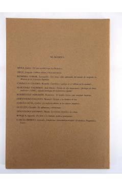 Muestra 2 de 1616 MIL SEISCIENTOS DIECISÉIS II. ANUARIO 1979 1979 (Vvaa) Facultad de Filología UCM 1979