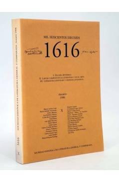 Cubierta de 1616 MIL SEISCIENTOS DIECISÉIS X. ANUARIO 1996 1996 (Vvaa) Facultad de Filología UCM 1996