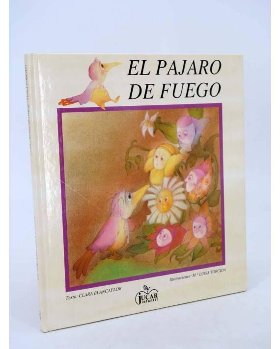 Cubierta de COLECCIÓN MANZANA MÁGICA. DE FUEGO (Clara Blancaflor / M.ª Luísa Torcida) Júcar 1987