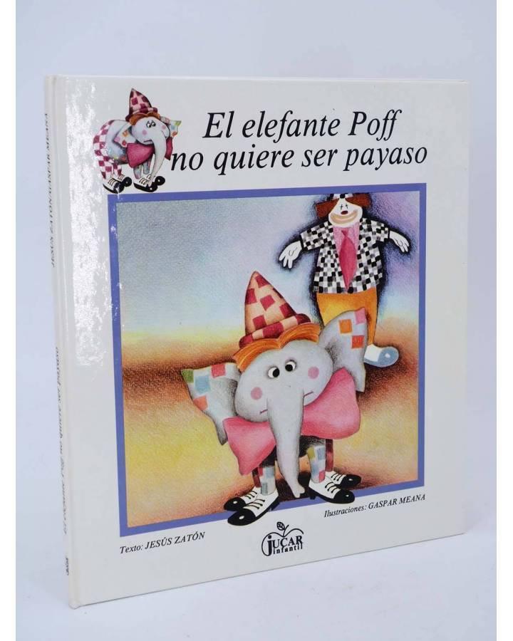 Cubierta de COLECCIÓN MANZANA MÁGICA. E POFF NO QUIERE SER PAYASO (Jesús Zatón / G Meana) Júcar 1985