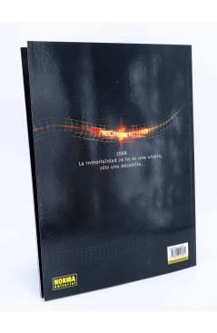 Contracubierta de CIMOC EXTRA COLOR 231. NEUROTRANS. LA MUERTE NO ES ETERNA (Vila / Colignon) Norma 2006