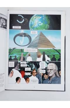 Contracubierta de LOS TECNOPADRES 8. LA GALAXIA PROMETIDA (Jodorowsky / Janjetov / Beltrán) Norma 2006