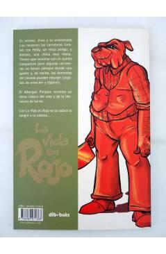 Contracubierta de LA VIDA EN ROJO. EL ALBERGUE PÚRPURA (Baloup / Domas) Dibbuks 2005