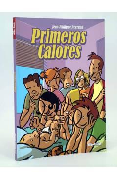 Cubierta de PRIMEROS CALORES (Jean Philippe Peyraud) Dibbuks 2009