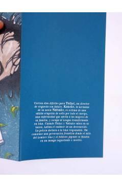 Contracubierta de EL DIA DEL LOBO. MANGA LICÁNTROPOS (Yoji Fukuyama) La Cúpula 2006