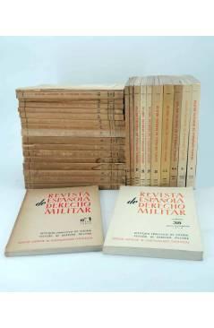 Cubierta de REVISTA ESPAÑOLA DE DERECHO MILITAR LOTE DE 30 NºS + INDICE 1956 A 1979 (Vvaa) CSIC 1956