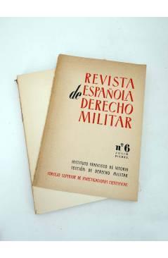 Muestra 5 de REVISTA ESPAÑOLA DE DERECHO MILITAR LOTE DE 30 NºS + INDICE 1956 A 1979 (Vvaa) CSIC 1956