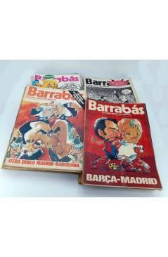 Cubierta de BARRABÁS REVISTA SATÍRICA DEL DEPORTE. LOTE DE 209NºS DE 242 ELF (Vvaa) Elf 1972