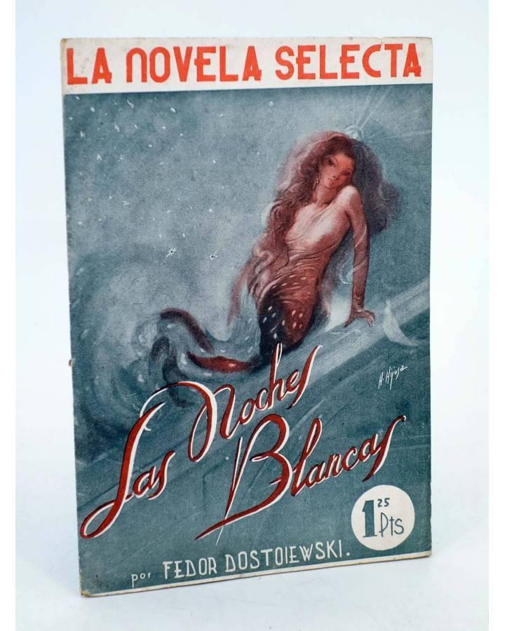 Cubierta de LA NOVELA SELECTA 1. LAS NOCHES BLANCAS (Fedor Dostoiewski) La Novela Selecta 1930