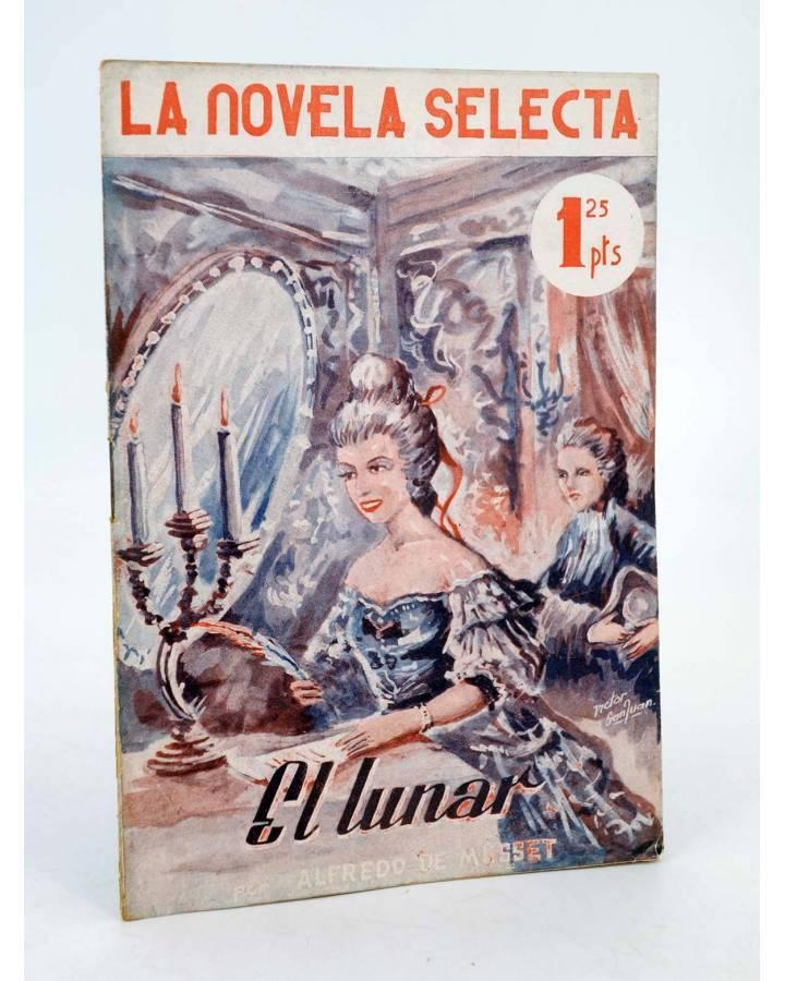 Cubierta de LA NOVELA SELECTA 4. EL ROBO DEL ELEFANTE BLANCO (Mark Twain) La Novela Selecta 1930