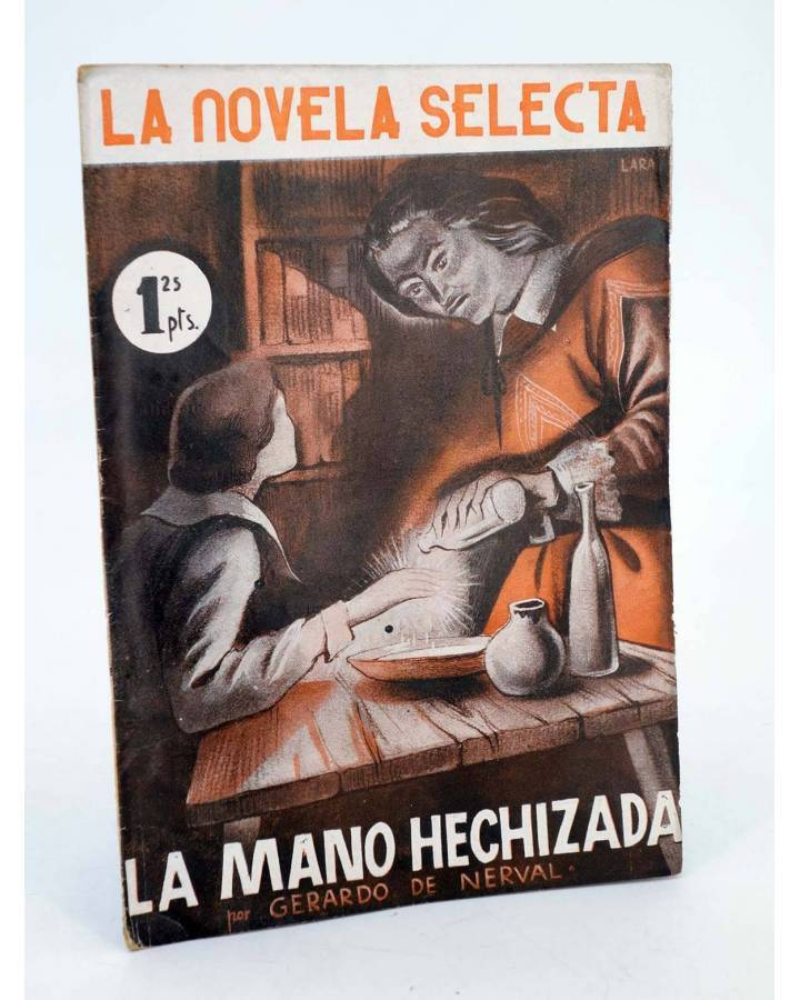 Cubierta de LA NOVELA SELECTA 5. LA PULSERA (Alejandro Kuprin) La Novela Selecta 1930