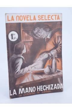 Cubierta de LA NOVELA SELECTA 10. LA MANO HECHIZADA (Gerardo De Nerval) La Novela Selecta 1930