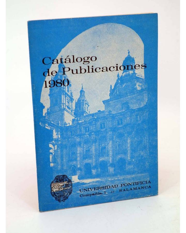 Cubierta de CATÁLOGO DE PUBLICACIONES 1980 (Vvaa) Universidad Pontificia Salamanca 1980