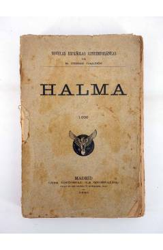Cubierta de NOVELAS ESPAÑOLAS CONTEMPORÁNEAS HALMA (Benito Pérez Galdós) La Guirnalda 1986