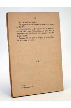 Contracubierta de LA NOVELA POPULAR. EL PERDÓN DEL MARINO (Sebastián Fernández) La Novela Popular 1930