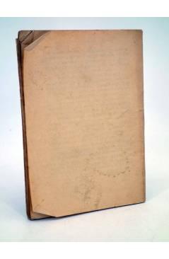 Contracubierta de LA NOVELA UNIVERSAL ENRIQUETA O AMOR Y SACRIFICIO (J. Benito Quero) La Novela Universal 1930