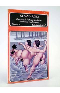Cubierta de LA NUEVA PERLA 11. COLECCIÓN DE LECTURAS SICALÍPTICAS SARCÁSTICAS Y VOLUPTUOSAS (Vvaa) Polen 1979