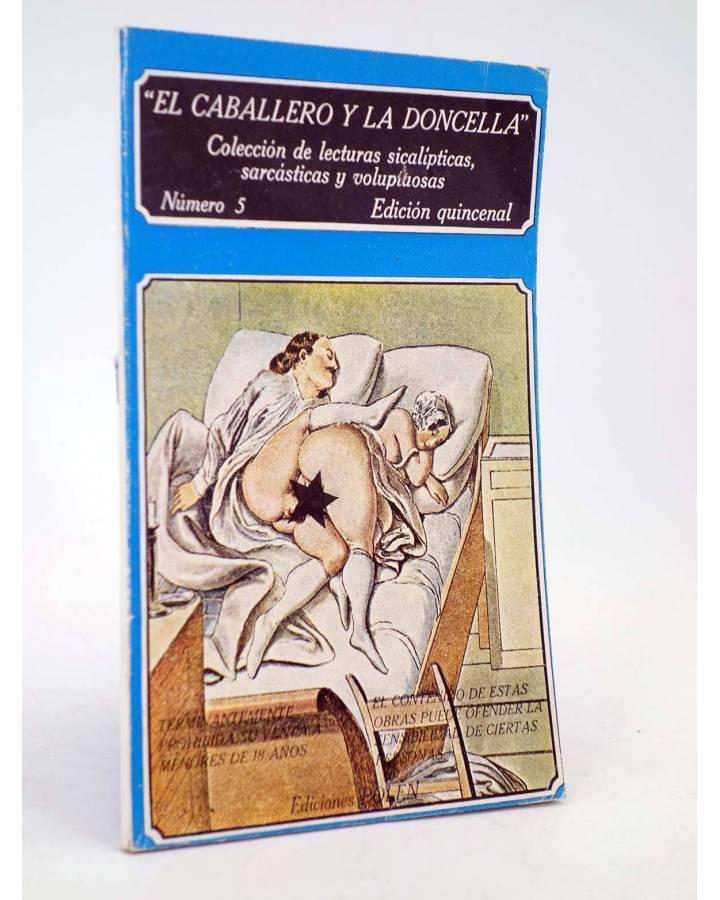 Cubierta de EL CABALLERO Y LA DONCELLA 5. COLECCIÓN DE LECTURAS SICALÍPTICAS SARCÁSTICAS Y VOLUPTUOSAS (Vvaa) Polen 1979