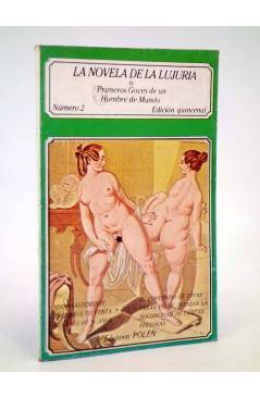 Cubierta de LA NOVELA DE LA LUJURIA O PRIMEROS GOCES DE UN HOMBRE DE MUNDO 2 (Vvaa) Polen 1979