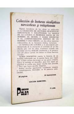 Contracubierta de LA NOVELA DE LA LUJURIA O PRIMEROS GOCES DE UN HOMBRE DE MUNDO 2 (Vvaa) Polen 1979
