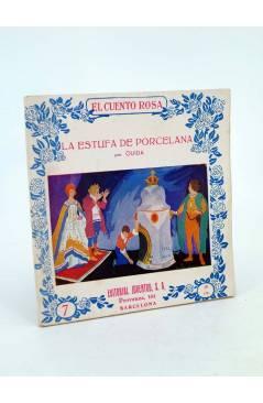 Cubierta de EL CUENTO ROSA 7. LA ESTUFA DE PORCELANA (Ouida / Ochoa) Juventud 1930