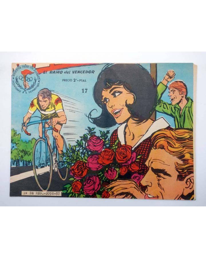 Cubierta de AVENTURAS DEPORTIVAS. Revista para los jóvenes 17. EL RAMO DEL VENCEDOR (No Acreditado) Ricart 1957