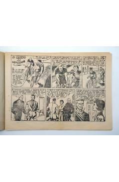 Contracubierta de AVENTURAS DEPORTIVAS. Revista para los jóvenes 17. EL RAMO DEL VENCEDOR (No Acreditado) Ricart 1957