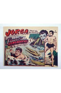 Cubierta de JORGA PIEL DE BRONCE 11. FAUCES VENGADORAS (No Acreditado) Ricart 1963